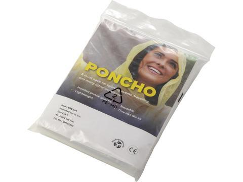 Bio-degradable PE poncho