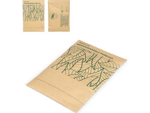 Biodegradable poncho
