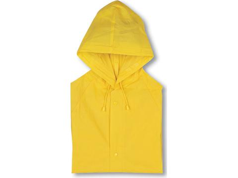 Raincoat with hood