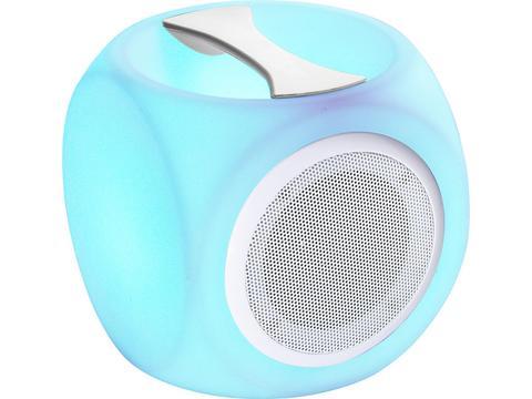 Bluetooth speaker with light