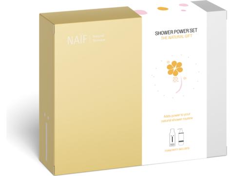 Naïf Shower power set