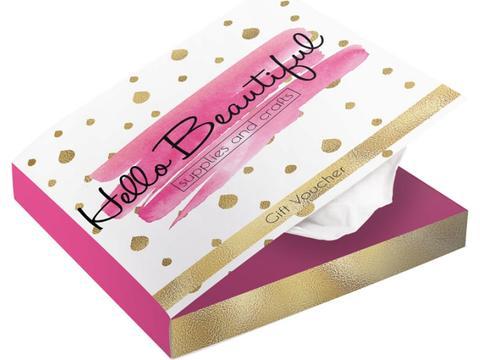 Tissue box in boek stijl