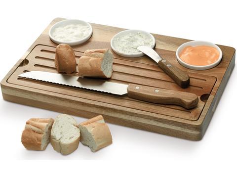 Brood en hapjes plank