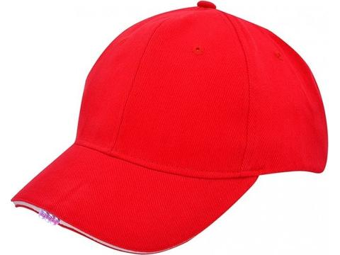 Heavy Brushed Cap with LED