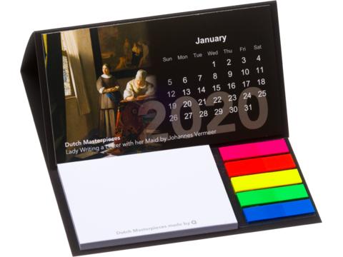 Softcover Desk Calendar
