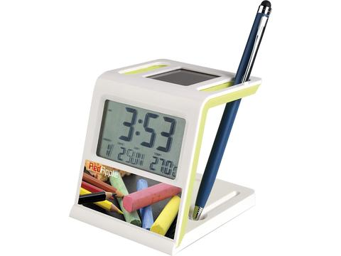 Multi function solar clock