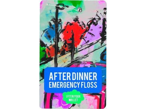 Floss card