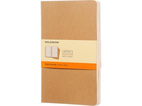 Cahier journal L - ruled (set of 3pcs)