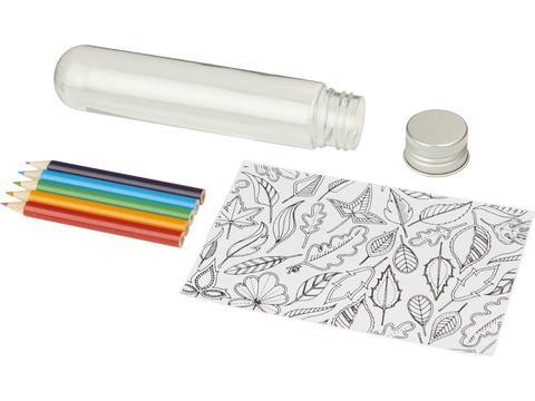 Mini tube de coloriage Cami
