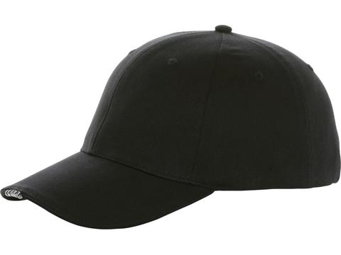 Cap with 5 panels and leds.