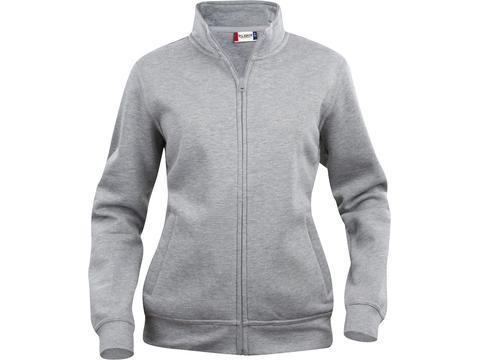 Cardigan sweater met rits