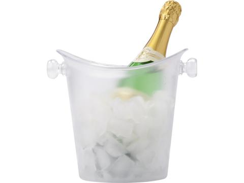 Frosted cooler & ice bucket
