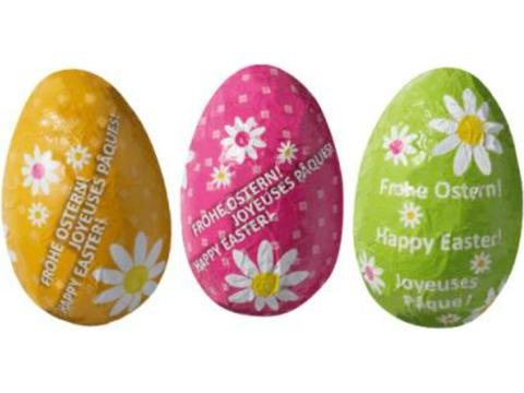 Happy Easter chocolate egg