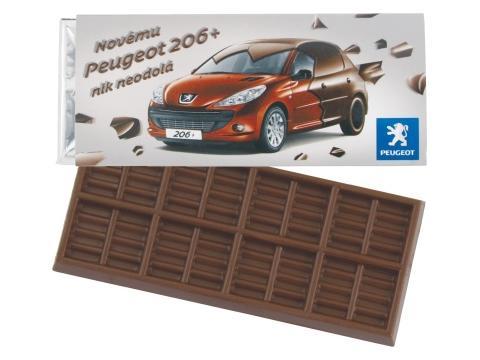 Barre de chocolat 50 gr. Barry Callebaut