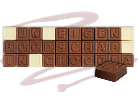 Chocotelegram 30 chocolade letters