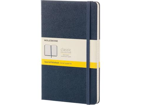Classic Large hard cover notitieboek met ruitjes papier