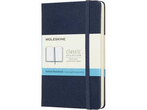 Classic Moleskine hard cover notitieboek met effen papier