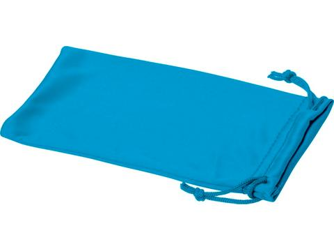 Clean microfibre pouch for sunglasses