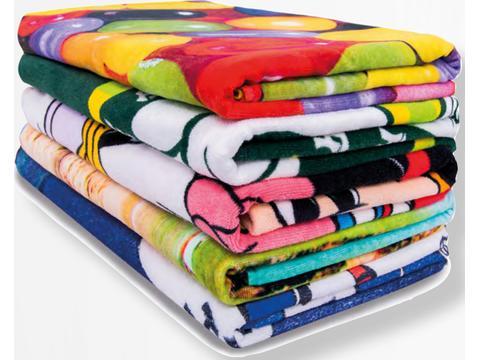 Reactive Printed Towels de Luxe
