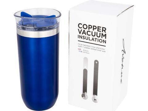 Twist non leaking copper vacuum insulated tumbler - 470 ml