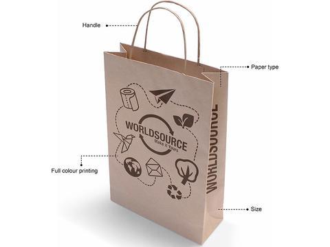 Custom made paper bags