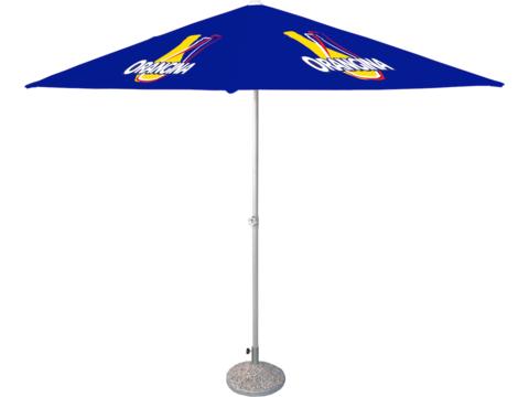 Custom made beach umbrella square