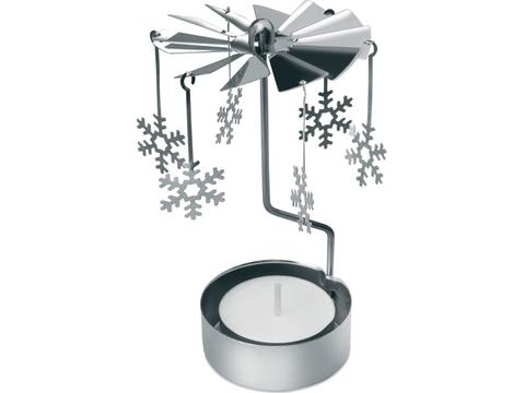 Christmas chime with tea light