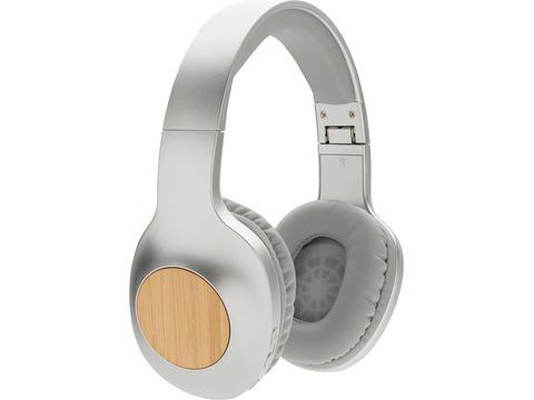 Casque audio en bambou Dakota