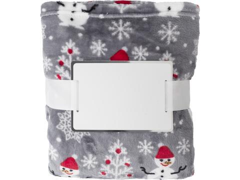 Polyester Christmas blanket