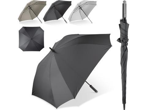 Vierkante luxe paraplu met draaghoes - Ø121 cm