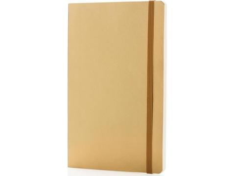Deluxe A5 notitieboek met zachte omslag
