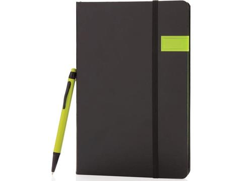 Deluxe data notitieboek met 8GB USB en touchscreen pen