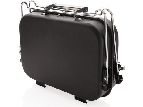 Barbecue portable format valise