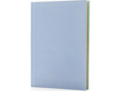 Deluxe stoffen 2-in-1 A5 notitieboek