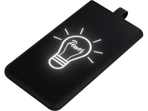 Design Light-up slim powerbank - 3000 mAh