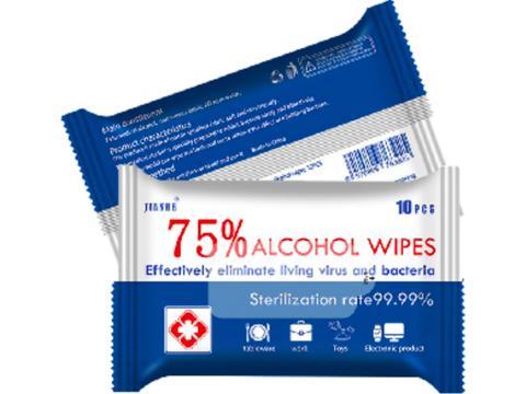 Lingettes désinfectantes 75% alcool