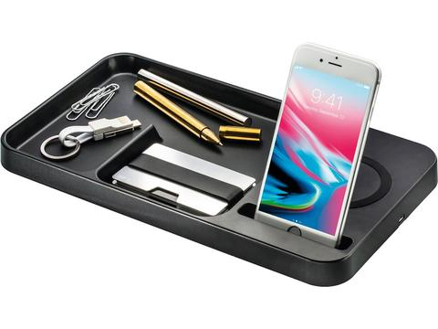 Desktop Organizer with wireless charger