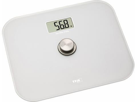 Digital Bathroom Scales Made of Glass ECO STEP