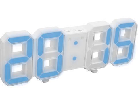 LED digital clock Reflects Ghost