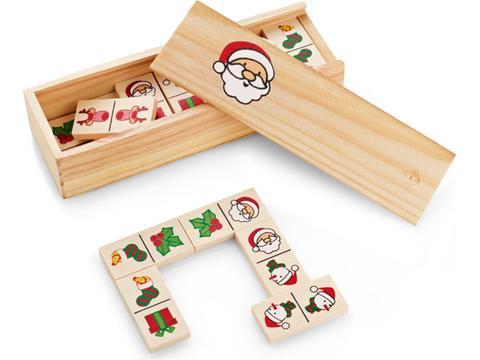 Christmas Dominoes game