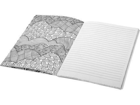 Kleuren notitieboek voor volwassenen
