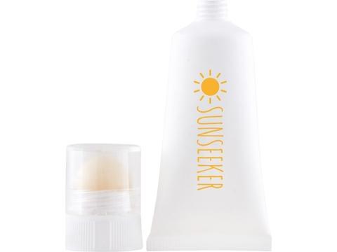 Soin 2en1 tube de 20 ml-crème solaire SPF 30 et baume à lèvres SPF 20