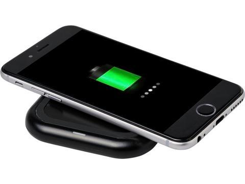 Radiant light-up logo wireless charging pad
