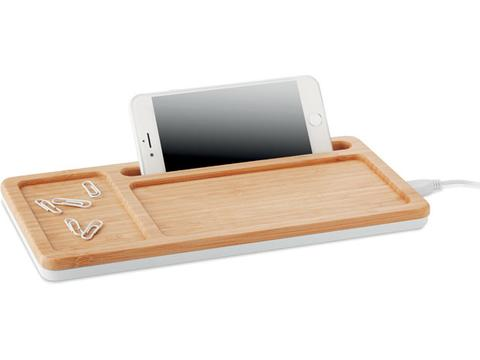 Wireless charger storage box