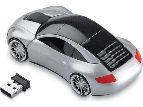 Draadloze muis in vorm van wagen
