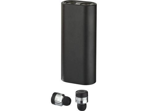 Metal TrueWirless Earbuds with Power Bank Case