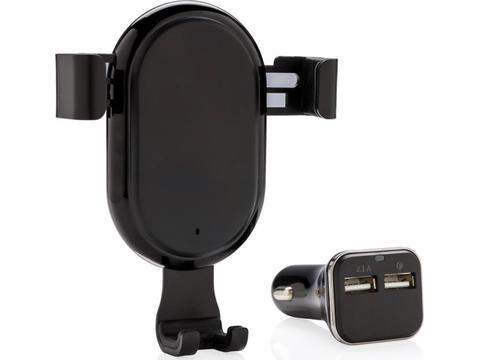 10W wireless car charging set