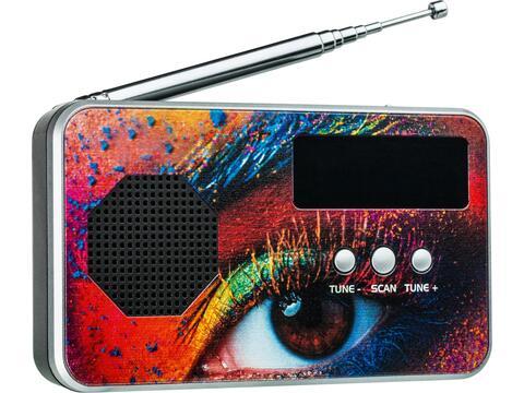 Portable digital radio FM en DAB+