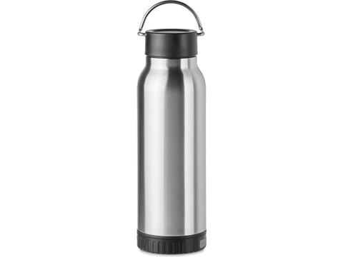 Double wall bottle with Power bank - 650 ml