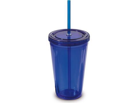 Drinkfles met rietje - 500ml